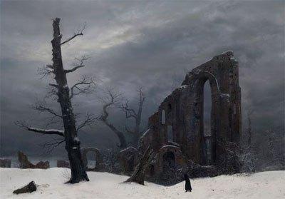 Romanticismo, cuadro del invierno