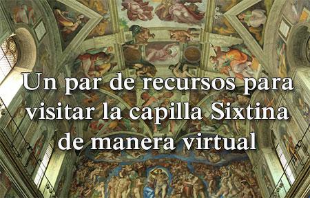 Visita virtual a la capilla Sixtina