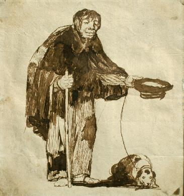 El mendigo de Goya