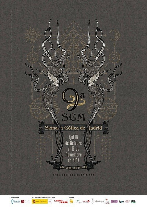 Cartel de la Semana Gótica de Madrid