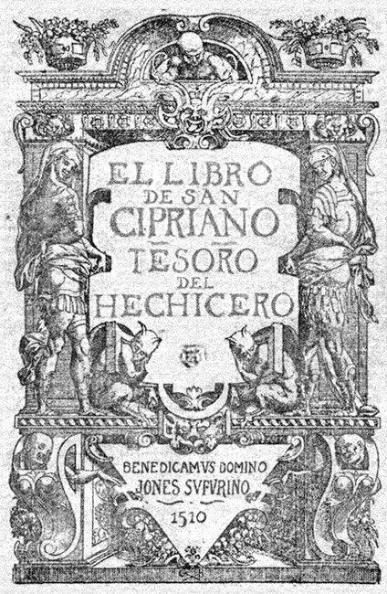 Portada del libro de San Cipriano