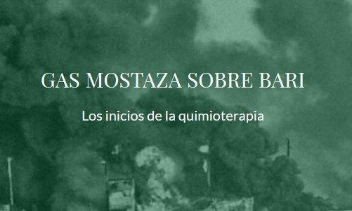 título del artículo gas mostaza sobre bari