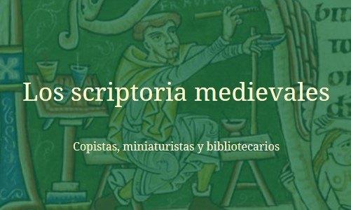 Título del artículo de los scriptoria medievales