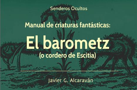 Manual de criaturas fantásticas: el barometz