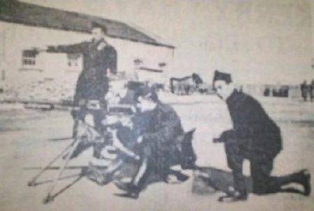 Entrenamiento de los brigadistas irlandeses en Cáceres